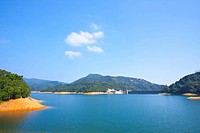 Shing Mun Reservoir in Hong Kong