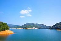 Shing Mun Reservoir in Hong Kong