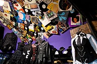 UK, London, music shop in Camden town