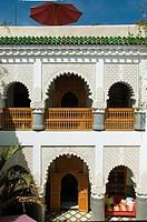 Africa, Morocco, Marrakech.Riad Enija in Derb Mesfioui