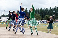 Scottish country dance performance at the 66th Annual Pacific Northwest Scottish Highland Games and Clan Gathering - Enumclaw, Washington