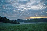 landscape near La Marre, Franche_Comté, France
