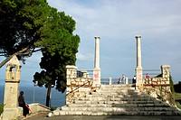 Tempel in Taormina