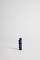 Blueberries arranged into a stack, studio shot (thumbnail)