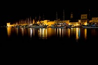 Night in Trogir
