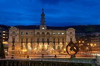 City hall of Bilbao, Bizkaia, Spain