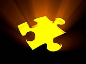 Glowing Puzzle Solution