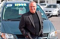 car sales man