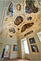 Italy, Piedmont, Reggia di Venaria, Venaria Royal Palace, frescoes