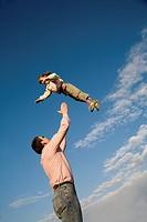 Spass der Vater und Tochter