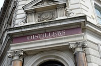 The Distillers pub in Smithfield, London, England