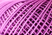 Extreme Close up of a thread spool