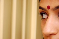 Close_up of an Indian woman
