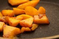 fried mango slices