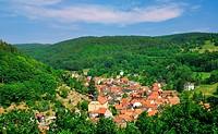 Idylle im Thüringer Wald bei Bad Liebenstein