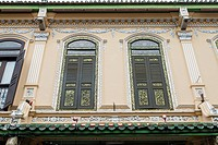 Traditional Windows on Peranakan House