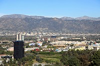 Universal Studios, San Fernando Valley, San Gabriel Mountains, Burbank, Los Angeles, California, United States of America, North America