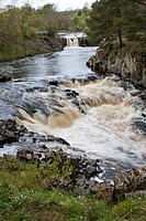 Low Force in Upper Teesdale, County Durham, England