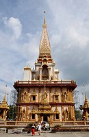 Wat Chalong temple in Puket
