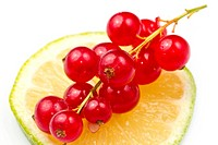 Redcurrant with lemon