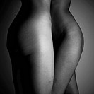 Two women naked