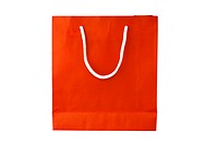 Orange Crumpled peper Bag