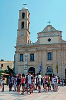 Orthodox Cathedral, Chania, Crete, Greece