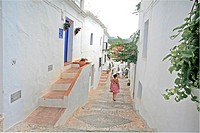 Frigiliana village, Malaga, Costa del Sol, Andalucia, Spain