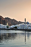 Muscat at sunset, Oman