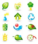 Set of nature icons