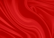 Red silk material