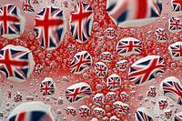 Union Jack Flage of the UK