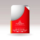 Modern card floral
