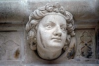 Head, Antique bas_relief