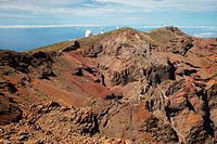Astrophysical Observatory, Roque de los Muchachos, Caldera de Taburiente National Park, La Palma, Canary Islands, Spain.