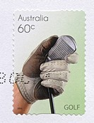 Golf, Sport Stamps