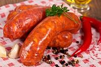 Raw italian sausage