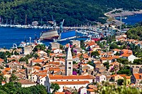 Panoramic view _ Town of Mali Losinj