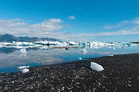Jokulsarlon lake in Iceland