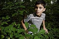 Boy 10_12 in park