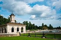 The Italian Gardens in Kensington Gardens, Lancaster Gate, London, England