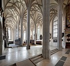 Georgs church, Total space, Noerdlingen, Bavaria, Germany