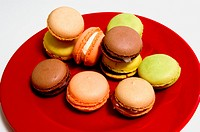 Macaroons in the studio