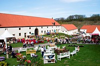 Garden event in the Abbey of Dalheim, Germany