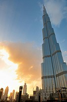 DUBAI, UAE _ FEBRUARY 19: Burj Khalifa facade on december 29, 2011 in Dubai, UAE. Burj Khalifa is a tallest building in the world, at 828m. Located on...