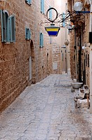 Narrow Street in Jaffa
