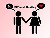 Different thinking