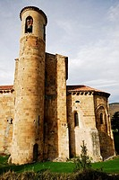 Collegiate church of San Martín in San Martín de Elines, Cantabria, Spain
