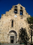 Romanesque church of Formigueres, Languedoc-Roussillon, Eastern Pyrenees, France