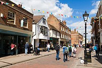 High Street, Rochester, Kent, England, UK.